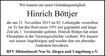 Zur Gedenkseite von Hinirch