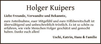 Zur Gedenkseite von Holger