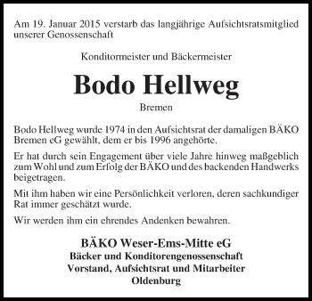 Zur Gedenkseite von Bodo