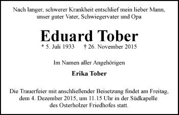 Zur Gedenkseite von Eduard