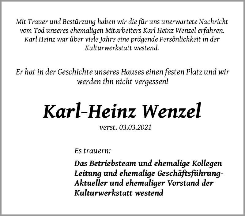Traueranzeigen Berlin 2021