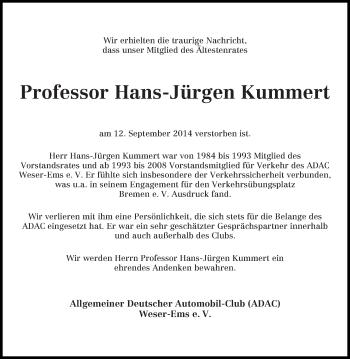 Zur Gedenkseite von Hans-Jürgen